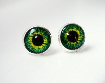 Eye earring studs