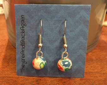 FlowerPower Clay Bead Earrings