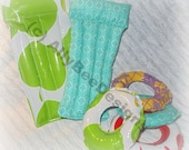 """Miniature Beach Pool Accessories made for 12-15"""" dolls"""