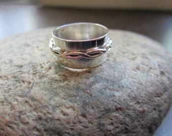 "Sterling Silver ""Twist"" Ring"