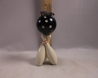 Lighter Vintage Bowling Pins & Bowling Ball Table LighterJapan 1950 s Rare.epsteam
