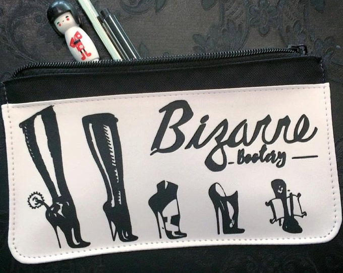 Bizarre Bootery Pencil Case