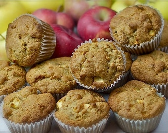 Apple-Walnut Muffins (Gluten-Free)