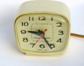 Mid Century Electric Alarm Clock General Electric