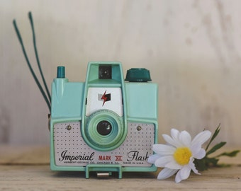 Imperial Green Mint  Mark XII Camera