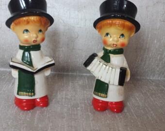 Christmas Caroler Shakers