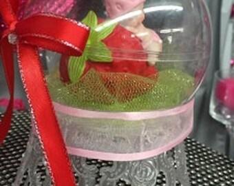Strawberry Baby Baby Shower Cake Topper Centerpiece Decoration