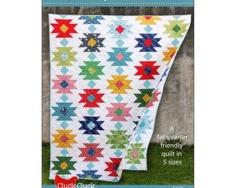 """Pattern """"Tahoe Quilt Pattern"""" by Cluck Cluck Sew (CCS158) Paper Pattern"""