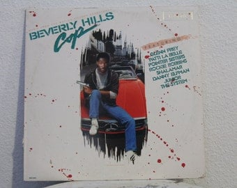 Beverly Hills Cop, Music From The Motion Picture Soundtrack vinyl record