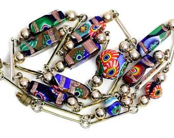 Glass Necklace Elements Enamel Jewelry Murano