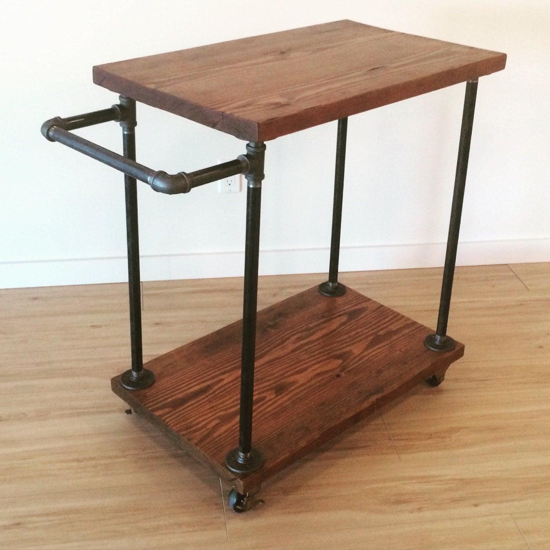 Pallet Wood Kitchen Cart
