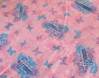 Pink Hannah Montana Cotton