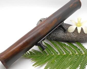 Drawer Pull, Black Bamboo Drawer Pull - Drawer Pull, Bamboo, Big Island, Hawaii, Beach Cottage, Beach Decor, Patio Door, Large Drawer Pull