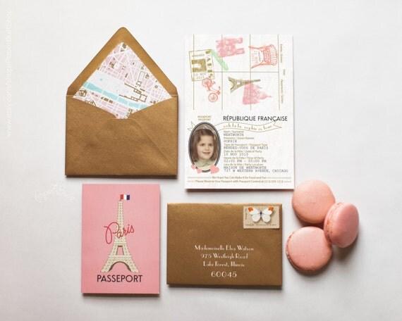 Paris passport invitation rendez vous de paris ooh la la paris il570xn filmwisefo Gallery