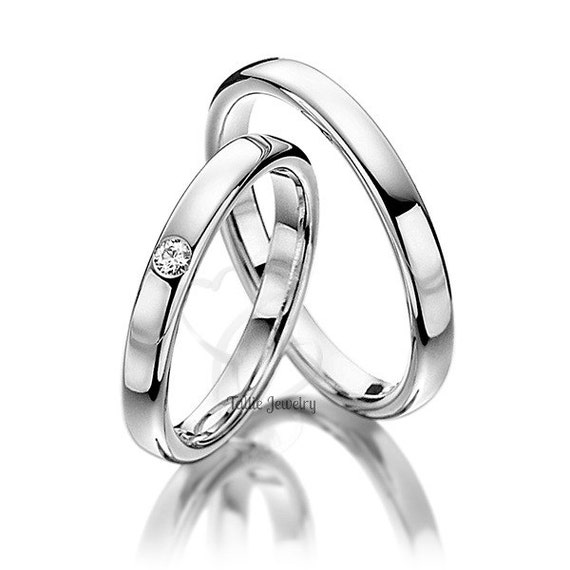 platinum his and hers wedding ringswomens wedding