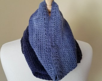 THE STACK Crocheted Gradient Cowl PATTERN