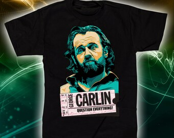 George Carlin T-Shirt and Tank Top