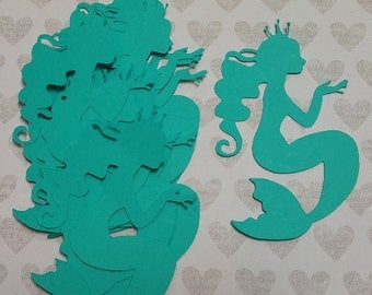 Die cut Mermaids   #B-46