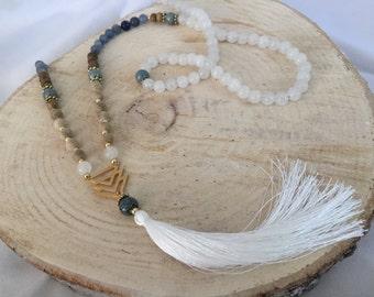 Beautiful Mala Inspired Necklace!!!