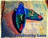 Handmade BoHo Bright and Shabby Clay Componets