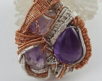 Amethyst - Raw Amethyst - Gemstone Jewelry - Boho Jewelry - Hippie Jewelry - Hipster Jewelry