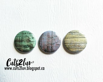 "3 badges 1 ""old wood"