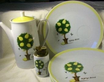 Georges Briard Lemon Snack Set Lighter