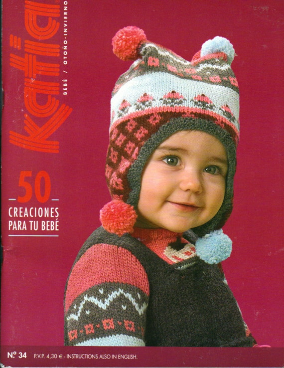Knitting Crochet In Spanish : Katia no in spanish and english knitting patterns for