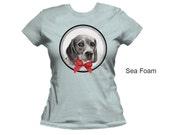 Beagle women's t-shirt,  dog t-shirt,  beagle t-shirt, pet t-shirt, cotton t-shirt, fitted t-shirt, form fitting shirt, women's shirt