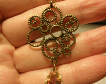 Crystal Elegance Dangle Earrings