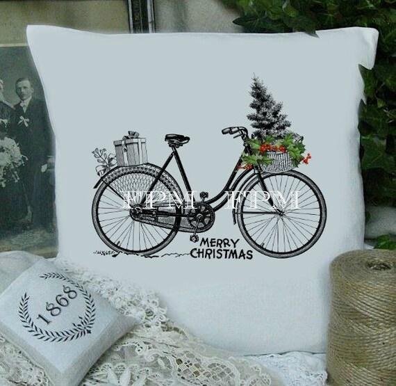 Digital christmas bike vintage christmas bike download for 70 bike decoration