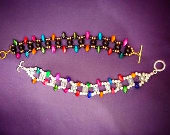 Beaded Bracelets - Colorful