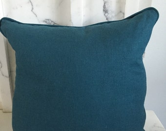 Sale! Teal pillow cover