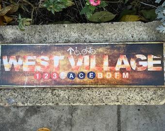 West Village - 4x15 in.