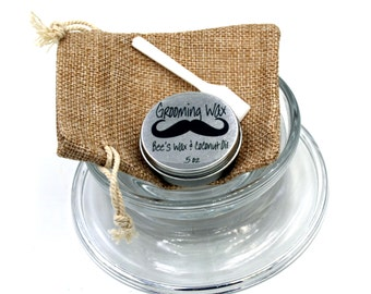 Mustache Grooming Wax Kit