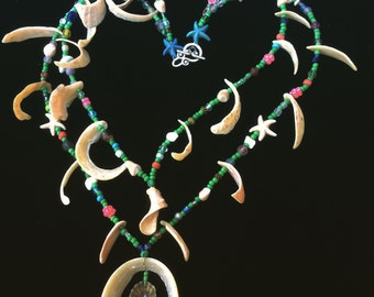 Beach-comber or Mermaids necklace