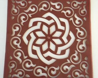 Rangoli Stencil/ Puja Madana/ Floor Art