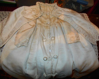 Gorgeous Victorian Little Girl's Coat with Capelet