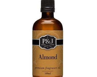 Almond Fragrance Oil - Premium Grade Scented Oil - 100ml