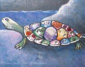 Turtle Fine Art Print Jew...