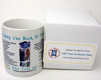 1997 Year In History Coffee Mug