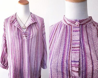 Purple Striped Tunic