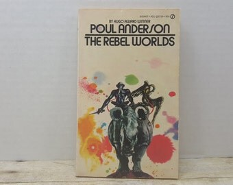 The Rebel Worlds, 1969, Poul Anderson, vintage sci fi, science fiction