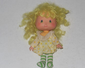 Vintage Lemon Meringue Strawberry Shortcake Doll