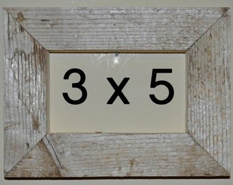 3 x 5 Driftwood Picture Frame (522)