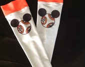 BB8 inspired running arm warmers