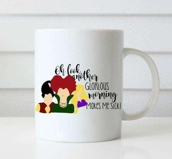 Sanderson sisters mug hocus pocus coffee mug halloween coffee mug funny coffee cup gift halloween gift thackary binx halloween gift mug