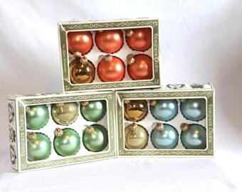 Vintage Glass Christmas Ornaments