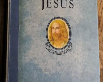 nativity, The story of Jesus, pop up book, religious book, jesus, christening gift, vintage jesus book, vintage pop up book, vintage bible,