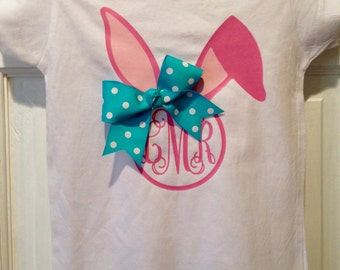 Monogrammed Bunny T-shirt